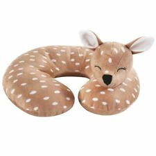 Hudson Baby Girl Travel Neck Support Pillow, Fawn