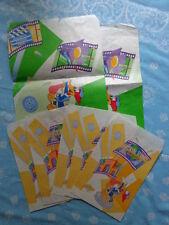 2001S Unversal Studios Japan Usj Shopping Bag Set Of 7 Paper Bag