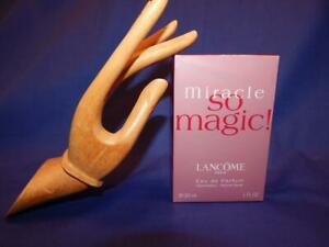 NEW IN BOX LANCOME PARIS MIRACLE SO MAGIC EAU DE PARFUM 1.0 OZ