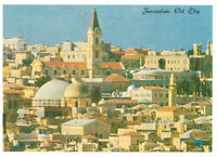 Jerusalem: View of The Old City. Israel, Palestine Rare Picture Postcard