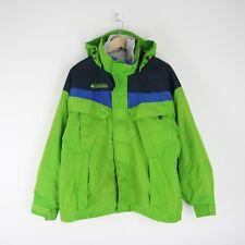 Vintage Columbia Boulder Ridge Full Zip 3 in 1 Fleece Jacket M Coat Green 3408