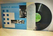 SIMPLE MINDS Sister Feelings Call LP 1981 Germany pressing