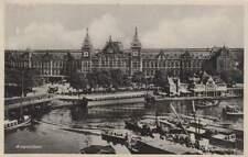 Ansichtkaart Nederland : Amsterdam - Centraal Station (bc275)