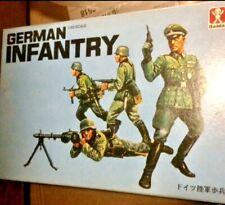 Vintage BANDAI German Infantry Soldiers