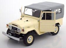 Triple 9 1967 TOYOTA LAND CRUISER FJ40 Cream Color in 1/18 Scale New Release!