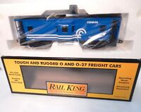 MTH Rail King # 30-7717  Conrail Lighted  Bay Window Caboose New with orig box!-