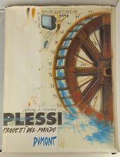 Plessi, Fabrizio. Progetti del Mondo by Gérard A. Goodrow - Hardcover, 1997