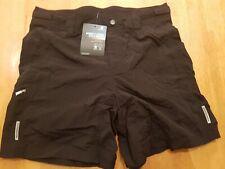 Ladies Paded Boardman cycling shorts size uk 12 black casual.