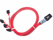 Molex Mini SAS SFF-8087 1m / 3ft - 4 SATA iPass to Backplane Cable 79576-3007