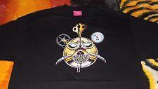 Mishka~Steam Punk Bear Mop Shirt~Size XL~Black/Multi