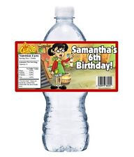 20 El Chavo (La Chilindrina) BIRTHDAY PARTY FAVORS WATER BOTTLE LABELS WRAPPERS