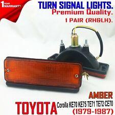 FOR Toyota Corolla Sedan 1.6 DX Front Bumper Turn Signal Lights