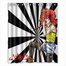 new Hayley Williams shower curtain 60 x 72 inch waterproof with hooks