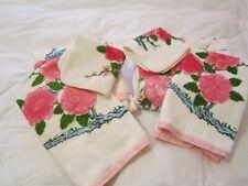 Vtg Wamsutta Heritage 2 Bath Towel Sets, Washcloths, Hand Towels Nwot! Floral
