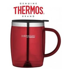 Thermocafe By Thermos Stanley Desk Mug Office Travel Cup 450 ml Red Picnic