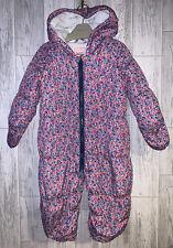 Girls Age 12-18 Months - Bluezoo Snow Suit
