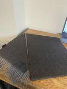 Dunhill Scarf Men's Cashmere & Wool 32cmx196cm  BNWT RRP £225
