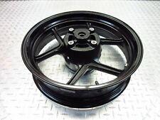 2011 09-11 Kawasaki EX650R Ninja 650R Rear Back Wheel Rim Straight Video 17x4.5