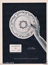 Publicité Advertising 096 1967 L.Bernardeau Porcelaine mod Cluny décor Lamartine