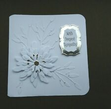 Handmade With Deepest Sympathy Card  -