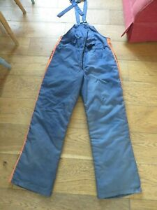 Stihl chainsaw trouser dungarees medium.?.