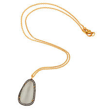 New Womens Fashion Gold Plated 17 INCH Chain Pendant Necklace Elegant Jewelry