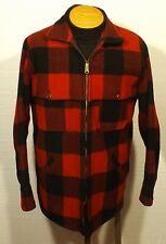 vintage men's plaid Woolrich jacket wool hunting fishing mackinaw size 42 Long