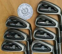 Cleveland CG7 TOUR BLACK PEARL Irons 4 - PW - DYNAMIC GOLD R300 SHAFTS