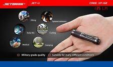 JETbeam JET-U(JET-μ) Cree XP-G2 130LM Mini Portable Waterproof LED Flashlight