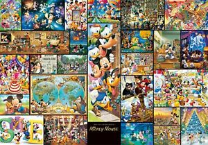 Tenyo Collection Art Mickey Mouse Gyutto Size Series Jigsaw Puzzle (2000 Pi