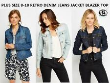 Waist Length Blazer Button-Down Coats & Jackets for Women