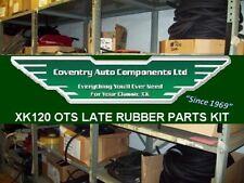 6791 L  Jaguar XK120 OTS (Roadster) Late Complete Rubber Parts Kit RPK120