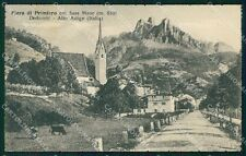 Trento Fiera di Primiero Sass Maor cartolina VK0582