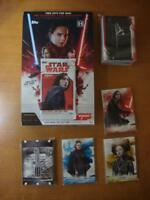 2018 Star Wars The Last Jedi Series 2 Mini Master Set 100 Base + 50 CHASE CARDS