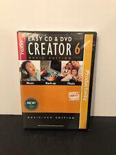 Roxio Easy CD & DVD Creator Version 6 Digital Media Suite Basic VCD Edition NEW