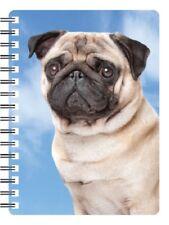 Pug 3D Notebook, Ideal Christmas stocking filler