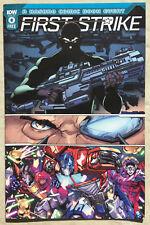 First Strike #0 - Hasbro IDW - GI Joe & Transformers + Mask, Micronauts & ROM