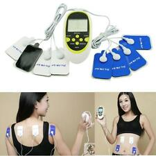 Home Health Care Digital Therapy Pulse Full Body Acupuncture Massager 8 Pads USA