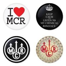 My Chemical Romance, H - 4 chapas, pin, badge, button