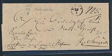 96934) Wpr. Marienwerder > K1 MEWE auf Brief 1838 n.Pr.Stargard