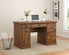 Computer Desk Home Office Work Student Desks Storage Table Furniture Study Oak