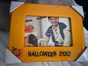 New Halloween frame Happy Halloween pumpkin photo picture frame 2012