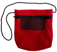 Bonding Pouch (Red) for Sugar Gliders and small pets