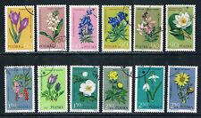 Poland 1962 Protected plants o/FU (no gum) SG 1314-25 Fischer 1177-88