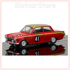 Scalextric 3870 Ford Cortina #41 Alan Mann Rac. HD