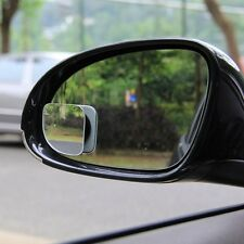 2PCS Rear Side View Blind Spot Mirror Auxiliary Wide Angle Vehicle Accessories Q