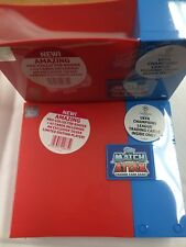 Topps Match Attax Soccer Trading Card Game Generic Album + Storage Box x 3-VALUE