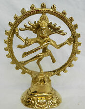 Brass Natraj Lord Shiva Dancing Figure