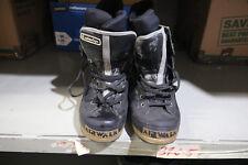 AirWalk Advantage Black Winter Snowboard Lace Up Boots Size 10