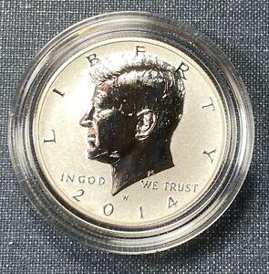 2014-W Silver Reverse Proof Kennedy Half Dollar